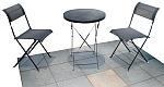 HFS-001 Стол и 2 стула  кемпинговый раскладной туристический, комплект (сталь, тексталин)