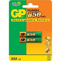 GP AAA 850  Аккумулятор  GP AAA ( 850MAH) NI-MH BL-2