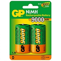 GP D 9000  Аккумулятор GP D (9000MAH) NI-MH BL-2