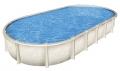 Бассейн каркасный Гибралтар Atlantic Pool (Канада), 10 х 5,5 х 1,32 м,овальный, морозоустойчивый (Лестница, скиммер-пакет, песчаный фильтр), комплект.