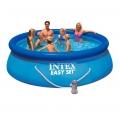 28142 Надувной бассейн Intex Easy Set Pool (396 х 84 см)   фильтрующий картриджный насос