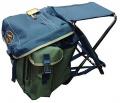 Рюкзак AVI-Outdoor Kalastus с раскладным стулом арт.: 1064  допустимая нагрузка 110 кг, высота от земли 30 см
