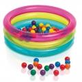 48674 Надувной игровой центр Intex Classic 3-Ring Baby Ball Pit (от 1 до 3 лет)