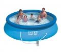 28132  Бассейн надувной Intex EASY SET 3,66х0,76см  с фильтр-насосом.