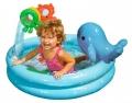 """57400 Бассейн """"Дельфин"""" с игрушками 90х53 см 1-3 лет"""