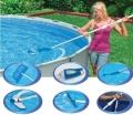 28003  Комплект для чистки бассейна Deluxe до 6 м (вакуумный пылесос)