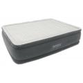 64418 Двуспальная надувная кровать Intex Comfort-Plush High Rise Airbed 152x203x56см.   встроенный электронасос