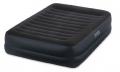 64424 Двуспальная надувная кровать Intex Pillow Rest Raised Bed   встроенный электронасос