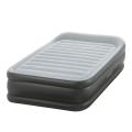 64432 Односпальная надувная кровать Intex  Deluxe Pillow Rest Raised Bed   встроенный электронасос