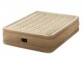 64458 Двуспальная надувная кровать Ultra Plush Bed   встроенный электронасос