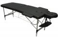 Складной массажный стол DFC Relax  (черный) с сумкой для транспортировки