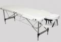 Складной массажный стол DFC Relax  (белый) с сумкой для транспортировки