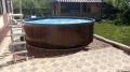 36601 Бассейн стальной морозоустойчивый круглый Лагуна 3,66х1,25м