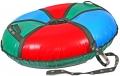 Санки-ватрушка Карусель-Т 95см с автокамерой, две ручки/поводок, тент пвх, до140кг