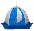 Палатка рыбака СТЭК-ЗОНТ-3 Д ELITE (алюмин.звездочка) 240х270х170см,  4 кг. (дышащая)