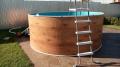 Бассейн стальной морозоустойчивый круглый Лагуна 3,66х1,25м с лестницей и песчаным фильтр-насосом
