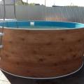 36611  Бассейн стальной морозоустойчивый круглый Лагуна 3,66х1,25м со скиммером