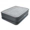 64140 Двуспальная надувная кровать Intex Essential Rest Airbed (152 х 203 х 51 см)   встроенный электронасос