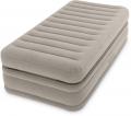 64444 Односпальная надувная кровать Intex Prime Comfort Elevated Airbed ( 99 х 191 х 51 см)   встроенный электронасос