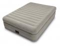 64446 Двуспальная надувная кровать Intex Prime Comfort Elevated Airbed (152 х 203 х 51 см)    встроенный электронасос