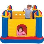 48259  Надувной батут игровой центр Intex Jump-O-Lene Castle Bouncer, 175 х 175 х 135 см.