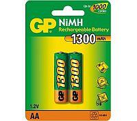 GP AA 1300  Аккумулятор GP AA (1300MAH) NI-MH BL-2
