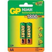 GP AA 1800   Аккумулятор    GP AA (1800MAH) NI-MH BL-2