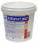 Хлоритэкс 1кг ведро, гранулир. препарат для текущей и ударной дезинфекции воды