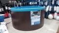 Бассейн стальной морозоустойчивый круглый Лагуна 2,44х1,25м