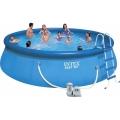 28176 Надувной бассейн Intex Easy Set Pool (549 х 122 см)   фильтрующий картриджный насос   аксессуары