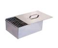 Коптильня  двухъярусная                                         БЕЗ ПОДДОНА (380х280х170) (сталь 0,5мм.)
