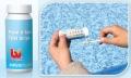 Тест-полоски для тестирования воды на уровень (хлор, pH, щелочность)