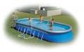 Набор для игры в волейбол (волейбольная сетка и мяч) для бассейнов до 366 см