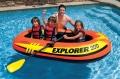 58332 Лодка надувная Explorer 300 (182кг.) 211х117х41см с пластик. веслами и насосом, от 6лет