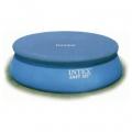 28022 Покрывало (тент) для круглых  бассейнов с надувным верхом (366 см) Intex