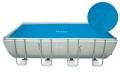 29027 Обогревающий тент для прямоугольных бассейнов Intex Solar Pool Cover (размер 732 х 366 см)