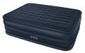 66718 Двуспальная надувная кровать Intex 66718 Raised Downy Bed 152х203х56 см  (ортопедическая)    встроенный электронасос