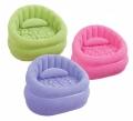 68563  Надувное кресло Intex Cafe Chair 91x102x65 см