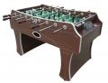 "Игровой стол - футбол DFC ""Dallas""  размер (144x74x89) вес 58 кг"