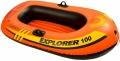 58329 Одноместная надувная лодка Intex Explorer 100
