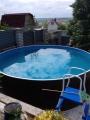 Бассейн стальной морозоустойчивый круглый Лагуна 3,05х1,25м