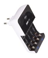V-9988  Зарядное устройство JaZZway  V-9988 (4 X AA / AAA, МП)